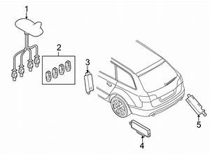 Audi A4 Connector  Antenna  Convertible  Coupe  Sedan