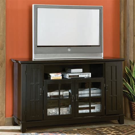 Entertainment Credenzas by Home Styles Arts Crafts Entertainment Credenza Black
