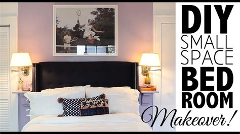 Small Bedroom Makeover by Diy Small Space Bedroom Makeover Home Decor