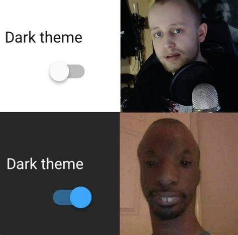 mode dark comments