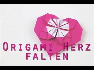 Herz Falten Origami : origami herz falten anleitung youtube ~ Eleganceandgraceweddings.com Haus und Dekorationen