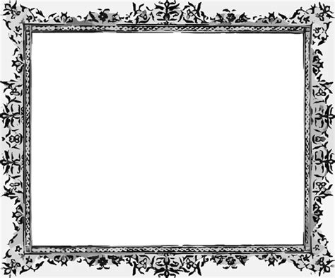 When we have a great photo, we want to showcase it the best way possible and framing a photo is one way to help the viewer focus on that important element of a. Black white frames PPT Backgrounds Template for Presentation - PPT ... - ClipArt Best - ClipArt Best