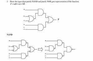 Converting Logic Gates To A Purely Nand Implementation