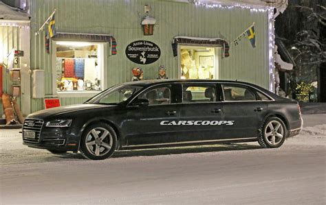 Is Audi Targeting Maybach With 6 Door A8 Stretch Limo