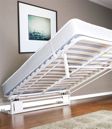 diy murphy bed frame for putting inside a closet