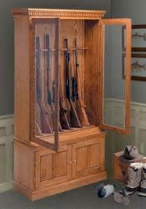 Armoire Arme A Feu by Simple Gun Cabinet Woodworking Plans Image Mag