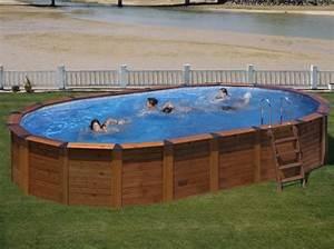 Piscine Ovale Hors Sol : piscine hors sol en bois mon comparatif ~ Dailycaller-alerts.com Idées de Décoration
