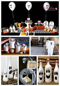 Halloween, Ghost, Decorations, That, Rock
