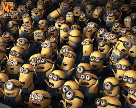 Stand Up To Peer Pressure by Despicable Me Wallpaper Gallery Movie Wallpapers