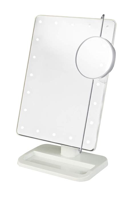 Table Top Vanity Mirror With Lights by Led Lighted Makeup Vanity Mirrors Table Decorative