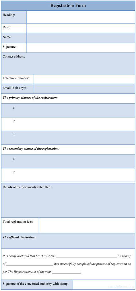 registration form template  commercewordpress