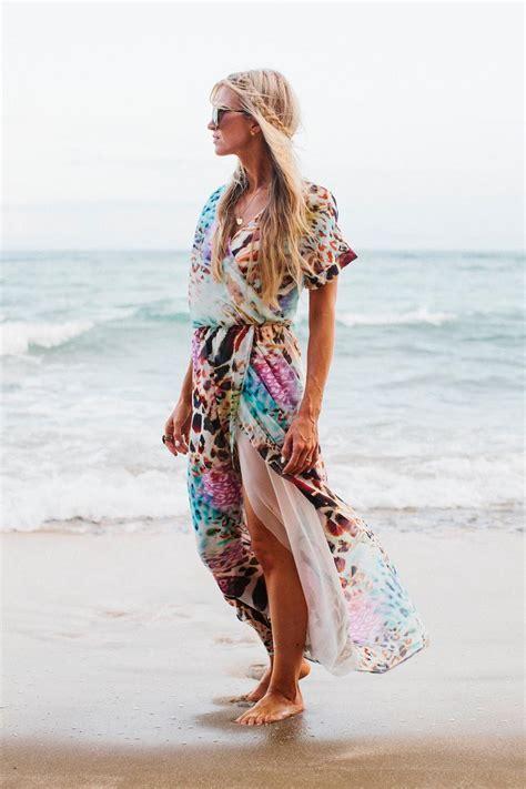 Bohemian Rhapsody Wrap Dress Pattern   AllFreeSewing.com