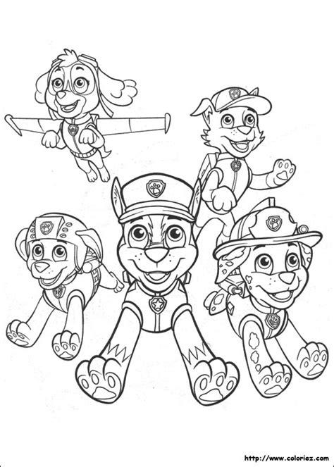 pat patrouille 13 dessins anim 233 s coloriages 224 imprimer