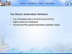 it infrastructure knowledge management in cas office With tax document automation software
