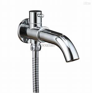in Wall Spout Brass Chrome Bathroom Accessories Tap Spout