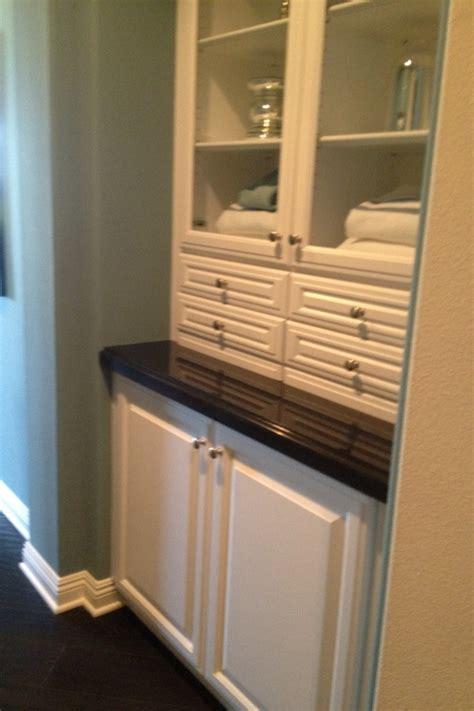 hall bathroom linen cabinet images  pinterest