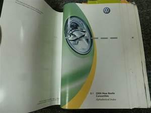 2004 Volkswagen Vw New Beetle Convertible Owner Manual