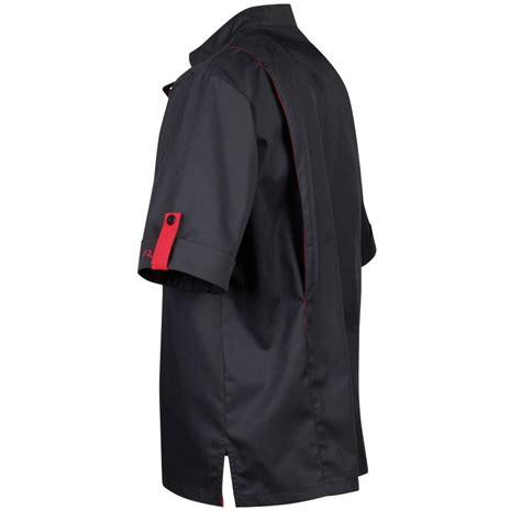 veste de cuisine homme noir veste de cuisinier robur pour homme noir et lisavet