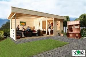 Gartenhaus Mit überdachter Terrasse : flachdach gartenhaus nina 28 b mit terrasse nur statt steiner shopping ~ One.caynefoto.club Haus und Dekorationen