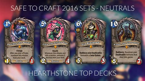 Hearthstone Crafting Guide For The Journey To Un'goro Meta