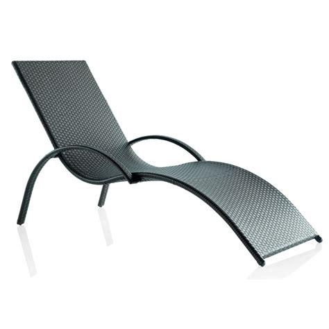 Chaise Longue En Resine Tressee chaise longue d ext 233 rieur en r 233 sine tress 233 e brin d ouest