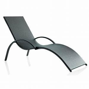 Chaise En Résine Tressée : chaise longue d 39 ext rieur en r sine tress e brin d 39 ouest ~ Dallasstarsshop.com Idées de Décoration