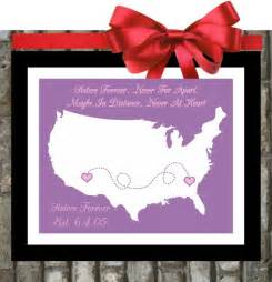 Gift for Sister Birthday, Quote Personalized Birthday Gifts Big Sister Little Sister Two 3 Three Sisters College Distance Print Poster Art