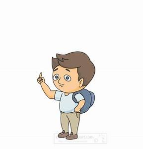 People Animated Clipart: confused-person-animation