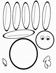 turkey templates printable here is the pdf for the blank With printable turkey templates