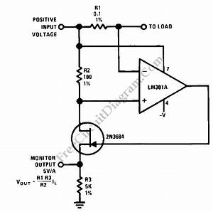 current monitor 2n3684 circuit diagram world With current in circuit