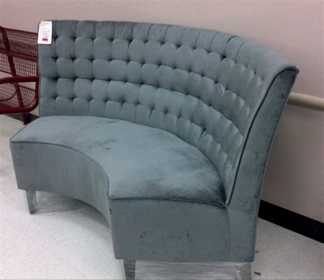 Curved Settee by Curved Settee Seating