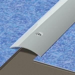 Barre De Seuil Autocollante : barre de seuil inox gris x l 4 5 cm leroy merlin ~ Premium-room.com Idées de Décoration