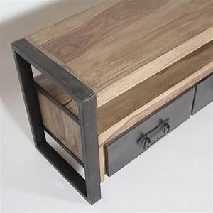 Meuble Tv Manguier : comment decaper un meuble en bois 16 meuble tv industriel 3 tiroirs en palissandre meuble tv ~ Teatrodelosmanantiales.com Idées de Décoration