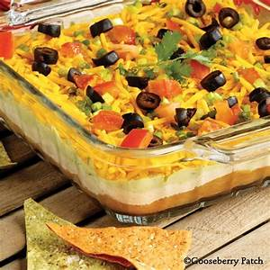 Seven layer Dip Recipes Dishmaps