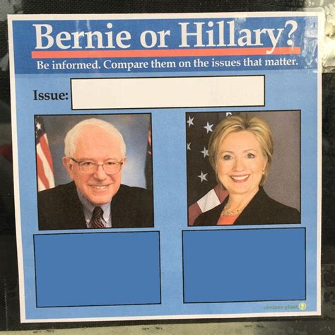 Bernie Hillary Memes - bernie or hillary blank template imgflip