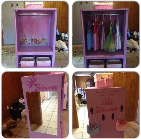 s princess dress up closet diy room