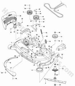Rz4621 Husqvarna Ztr Mowers Deck Parts