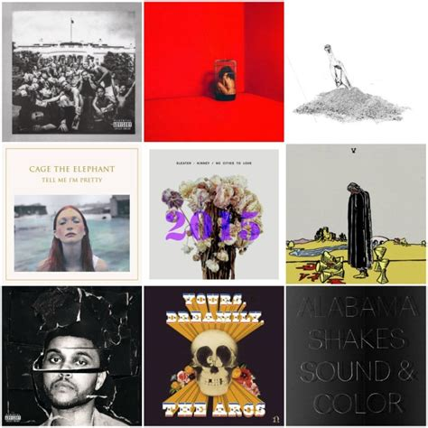 Dopest Albums Of 2015 By Oscar Pursuit Of Dopeness