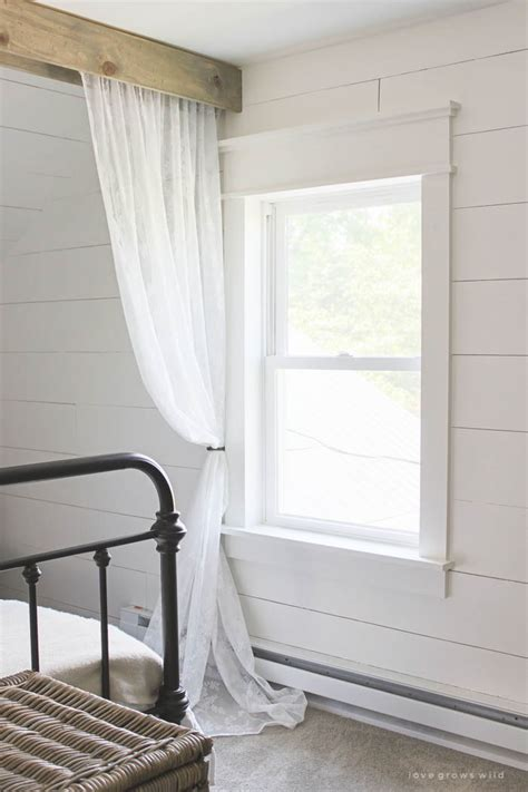farmhouse window trim grows