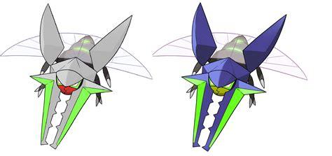 My take on Shiny Vikavolt! (Actual shiny|My shiny) : pokemon
