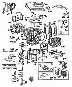 Parts Diagram For Briggs  U0026 Stratton Engine