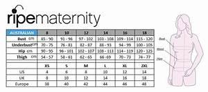 Gap Denim Size Chart Maternity Size Chart Motherhood Closet Maternity