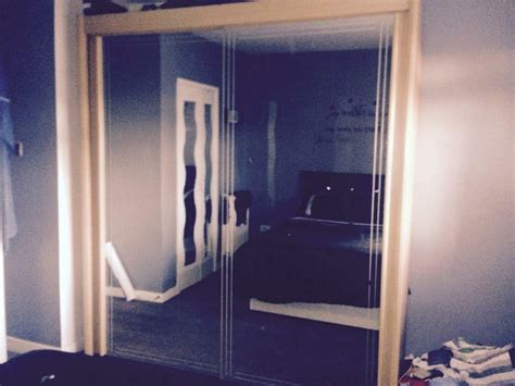 Mirrored Wardrobes For Sale by Solid Mirrored Wardrobe For Sale In Carntyne