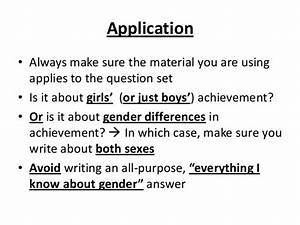 Gender differences essay essay war against terrorism different ...
