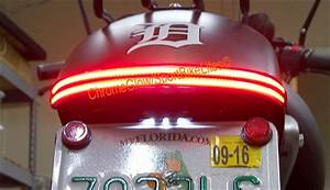 Honda Vt750 Phantom Spirit Double Stack Led Fender