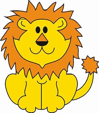 Lion Cartoon Face Cliparts Clip Clipart