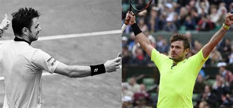 defending chion wawrinka wins the crowd with his