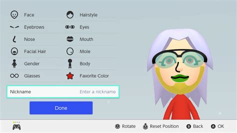 nintendo switchs mii editor  colorful polygon