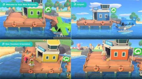 animal crossing  horizons baby  color airport