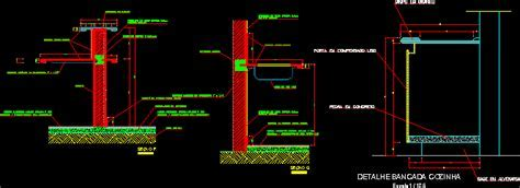Details Of Kitchen Table DWG Section for AutoCAD ? Designs CAD